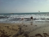 naar het strand